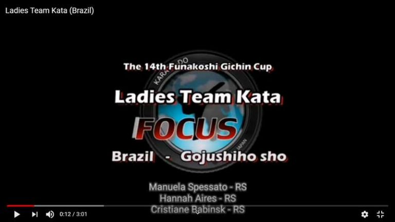 Ladies Team Kata (Brazil)