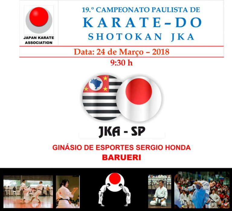 19º CAMPEONATO PAULISTA DE KARATE-DO SHOTOKAN JKA